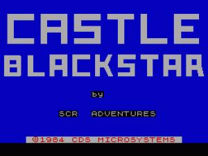 Castle Blackstar per Sinclair ZX Spectrum