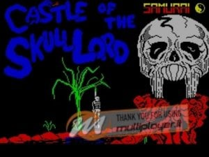 Castle of the Skull Lord per Sinclair ZX Spectrum