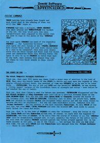 Celtic Carnage per Sinclair ZX Spectrum