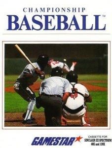 Championship Baseball per Sinclair ZX Spectrum