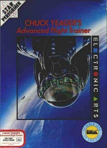 Chuck Yeager's Advanced Flight Trainer per Sinclair ZX Spectrum