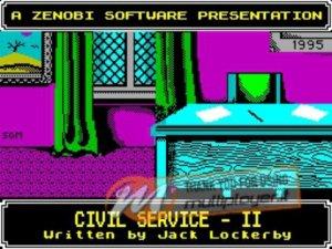 Civil Service II per Sinclair ZX Spectrum