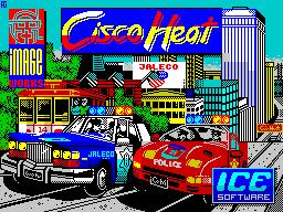Cisco Heat: All American Police Car Race per Sinclair ZX Spectrum