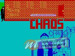 Classroom Chaos per Sinclair ZX Spectrum