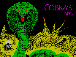Cobra's Arc per Sinclair ZX Spectrum