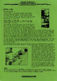 Corporal Stone per Sinclair ZX Spectrum