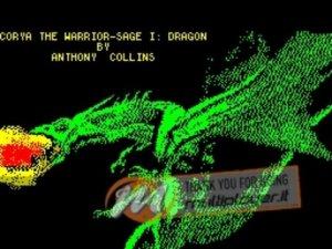 Corya the Warrior Sage per Sinclair ZX Spectrum