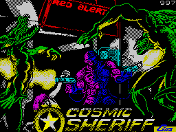 Cosmic Sheriff per Sinclair ZX Spectrum