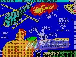 Countdown to the Death per Sinclair ZX Spectrum