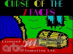 Curse of the Seven Faces per Sinclair ZX Spectrum