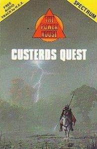 Custerd's Quest per Sinclair ZX Spectrum