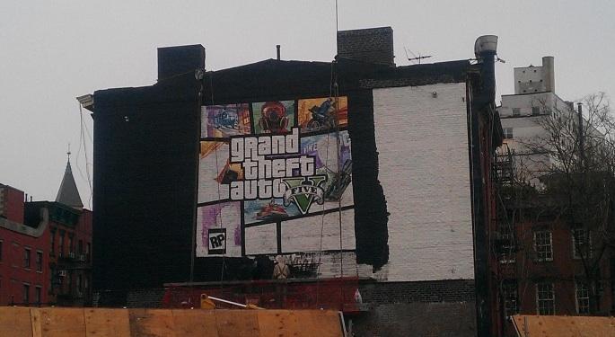 Grand theft Auto V - La cover si sta svelando con un murales a New York