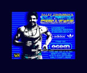 Daley Thompson's Olympic Challenge per Sinclair ZX Spectrum