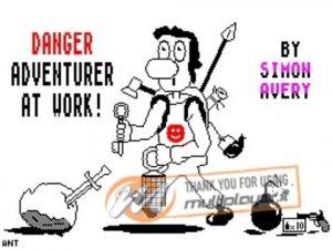 Danger! Adventurer at Work! per Sinclair ZX Spectrum