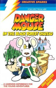 Danger Mouse in the Black Forest Chateau per Sinclair ZX Spectrum