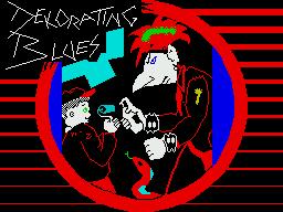 Dekorating Blues per Sinclair ZX Spectrum