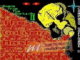 Demon from the Darkside II: The Golden Mask per Sinclair ZX Spectrum