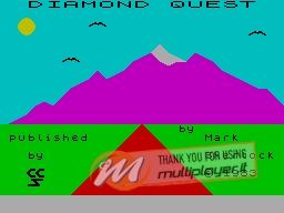 Diamond Quest per Sinclair ZX Spectrum