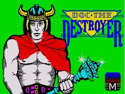 Doc the Destroyer per Sinclair ZX Spectrum