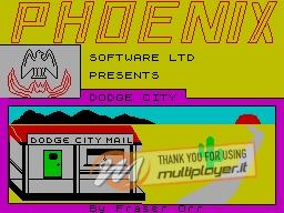 Dodge City per Sinclair ZX Spectrum