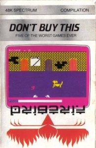 Don't Buy This per Sinclair ZX Spectrum