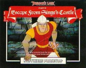 Dragon's Lair II: Escape from Singe's Castle per Sinclair ZX Spectrum