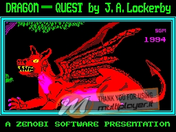Dragon Quest per Sinclair ZX Spectrum