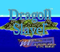 Dragon Slayer: Eiyuu Densetsu per Sinclair ZX Spectrum