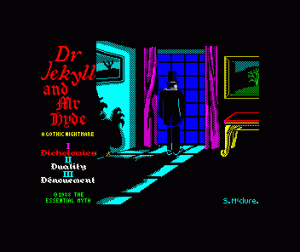 Dr. Jekyll and Mr. Hyde per Sinclair ZX Spectrum