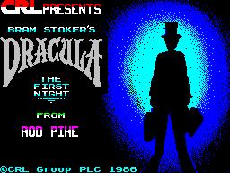Dracula per Sinclair ZX Spectrum