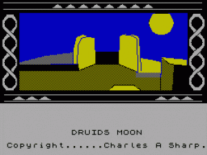 Druid's Moon per Sinclair ZX Spectrum