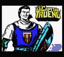 El Capitán Trueno per Sinclair ZX Spectrum
