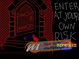 Enter at Your Own Risk per Sinclair ZX Spectrum
