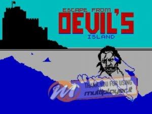 Escape from Devil's Island per Sinclair ZX Spectrum