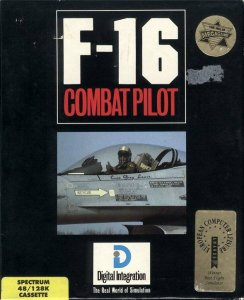 F-16 Combat Pilot per Sinclair ZX Spectrum