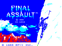 Final Assault per Sinclair ZX Spectrum