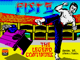 Fist II: The Legend Continues per Sinclair ZX Spectrum