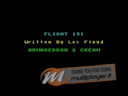 Flight 191 per Sinclair ZX Spectrum