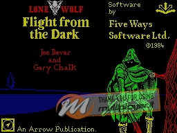 Flight from the Dark per Sinclair ZX Spectrum