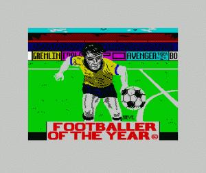 Footballer of the Year per Sinclair ZX Spectrum