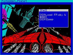 Forbidden Planet per Sinclair ZX Spectrum