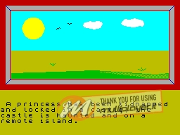 Forgotten Island per Sinclair ZX Spectrum