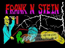 Frank N Stein per Sinclair ZX Spectrum