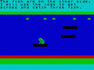 Frogg Adventure per Sinclair ZX Spectrum