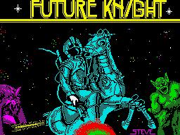 Future Knight per Sinclair ZX Spectrum