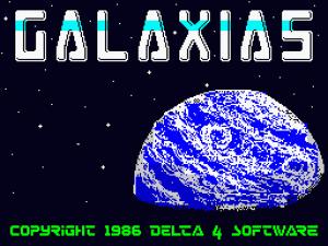 Galaxias per Sinclair ZX Spectrum