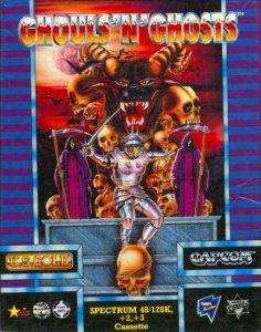 Ghouls'n'Ghosts per Sinclair ZX Spectrum