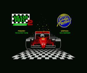 Grand Prix Simulator 2 per Sinclair ZX Spectrum