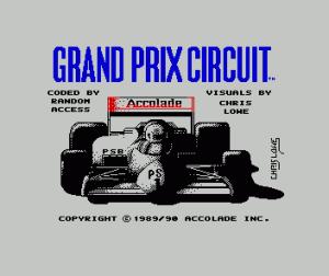 Grand Prix Circuit per Sinclair ZX Spectrum