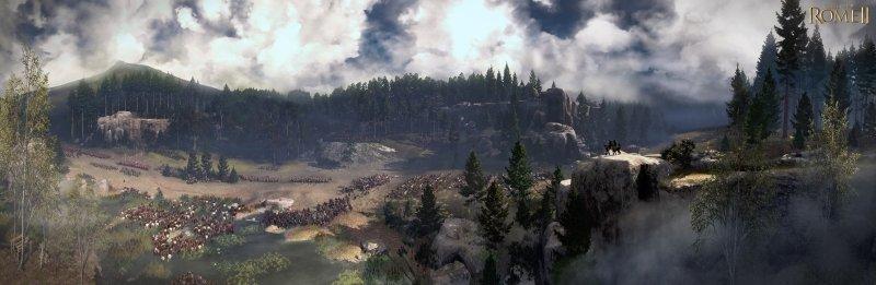 Total War: Rome II - Lo screenshot più grande del mondo